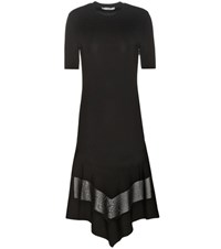 Givenchy Knitted T Shirt Dress Black