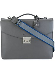Furla Top Handle Briefcase Grey