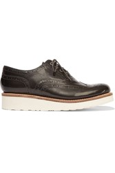 Grenson Emily Patent Leather Brogues