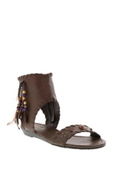 Very Volatile Yulissa Beaded Sandal Brown