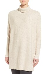 Eileen Fisher Women's Peppered Organic Cotton Blend Turtleneck