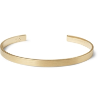 Le Gramme Le 15 Brushed Yellow Gold Cuff