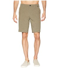 Hurley Phantom Hybrid Walkshorts Olive Canvas