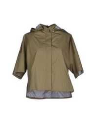 Boy By Band Of Outsiders Jackets Military Green
