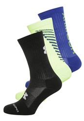 Under Armour Crew 3 Pack Sports Socks Black