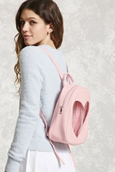 Forever 21 Faux Leather Heart Backpack