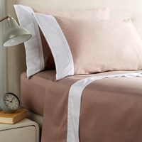 Christy Hotel Sheet Set Dusty Pink Single