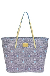 Lilly Pulitzer 'Resort' Water Resistant Print Tote Bright Navy Upscale