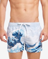 2Xist 2 X Ist Great Wave Ibiza 4 Swim Trunks