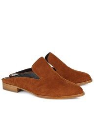 Robert Clergerie Amber Suede Alicel Slip On Loafers Orange