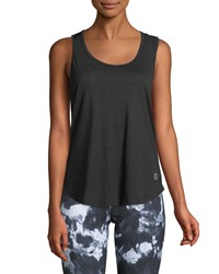 The Balance Collection Catalina Triangle Back Tank Black