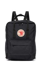 Fjall Raven Fjallraven Kanken Backpack Black