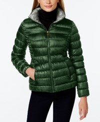 Inc International Concepts Packable Puffer Coat Only At Macy's Military Pebble