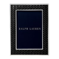 Ralph Lauren Home Brockton Photo Frame Black 4X6