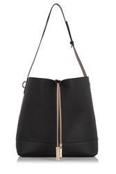 Oasis Reversible Hobo Black Multi