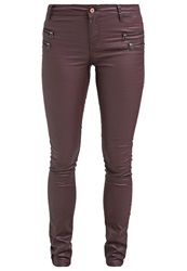 Noisy May Fame Trousers Fudge Brown