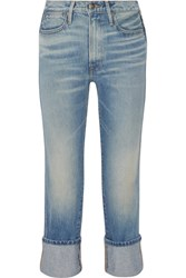 Frame Rigid Re Release Le High Straight Leg Jeans Light Denim