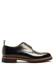 Armando Cabral Astor Leather Derby Shoes Black
