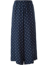 Antonio Marras Polka Dot Culottes Blue