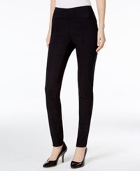 Alfani Pull On Seamed Skinny Pants Only At Macy's Deep Black