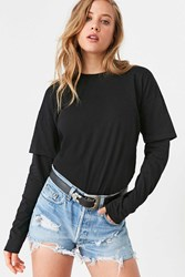 Bdg Cole Double Layer Tee Black