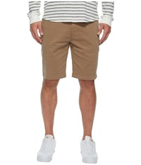 7 For All Mankind The Chino Twill Shorts Rich Khaki