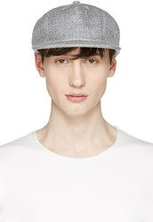 Attachment Grey Linen Cap
