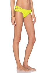 Indah Yaya Crochet Bottom Yellow