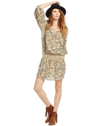 Denim And Supply Ralph Lauren Paisley Print Dress