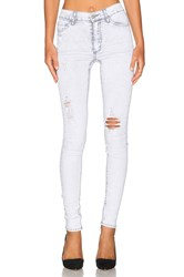 Cheap Monday Second Skin Skinny Light Gray