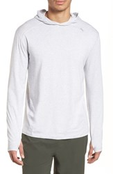 Tasc Performance Carrollton Regular Fit Pullover Hoodie Light Heather Gray