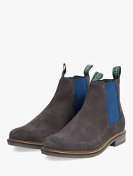 Barbour Farsley Suede Chelsea Boots Grey