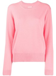 Zadig And Voltaire Round Neck Sweater Pink