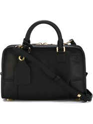 Loewe 'Amazona' Emblazoned Logo Tote Bag Black