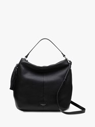 Radley Artisan Road Leather Large Hobo Bag Black