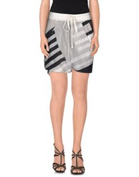 Rick Owens Skirts Mini Skirts Women Grey