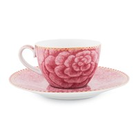 Pip Studio Spring To Life Cup And Saucer Pink