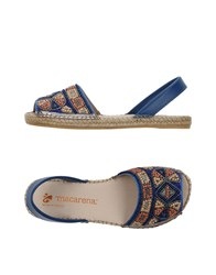 Macarena Footwear Sandals Blue
