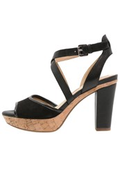 Geox Heritage High Heeled Sandals Black