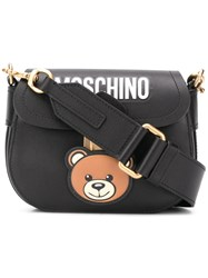 Moschino Teddy Satchel Black