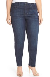 Melissa Mccarthy Seven7 Plus Size Women's Stretch Straight Leg Jeans Gordon