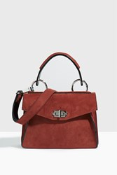 Proenza Schouler Small Hava Top Handle Bag Brown