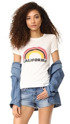 Rebecca Minkoff California Birkin Tee Chalk Multi