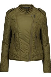 Belstaff Enduro Quilted Shell Jacket Army Green