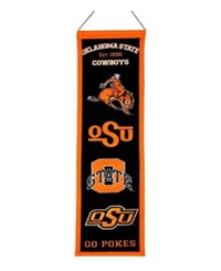 Winning Streak Oklahoma State Cowboys Heritage Banner Team Color