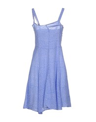 Idea Plus Dresses Knee Length Dresses Women Pastel Blue