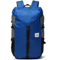 Herschel Supply Co Barlow Large Dobby Nylon Backpack Blue