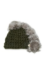 Mischa Lampert Pohawk Merino Wool Child Beanie Green