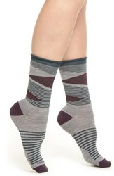 Smartwool 'S First Mate Crew Socks Light Gray Heather