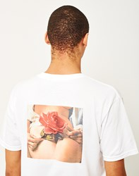 Huf X Penthouse Rose T Shirt White